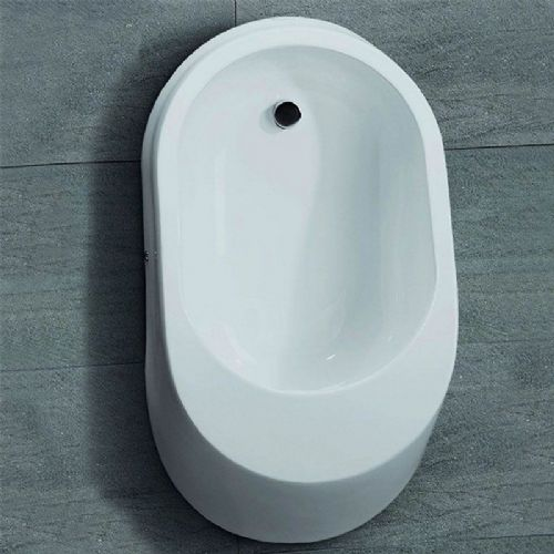 Healey & Lord Moderne Ceramic Designer Urinal Bowl - Back Inlet